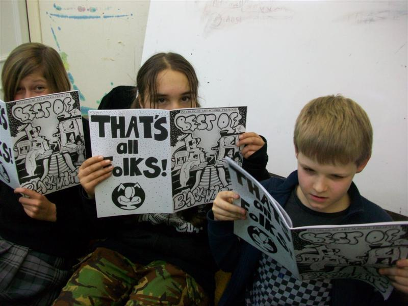 Comic Book produced by Cartooning students